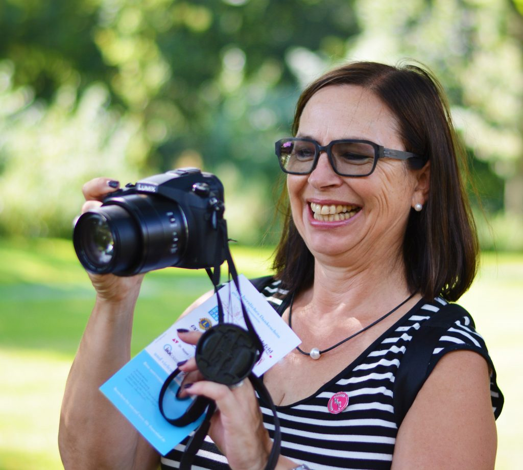 Monika fotografiert